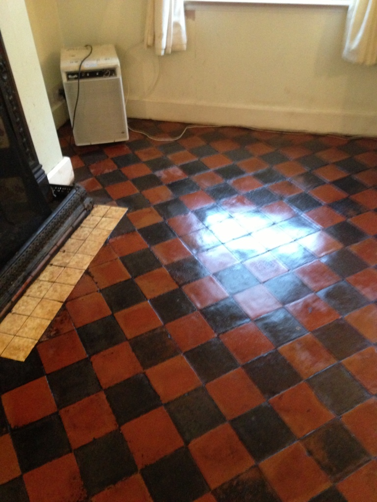 Quarry tiled floors cleaning and sealing information tips and a quarry tile floor restored by tile doctor doublecrazyfo Gallery
