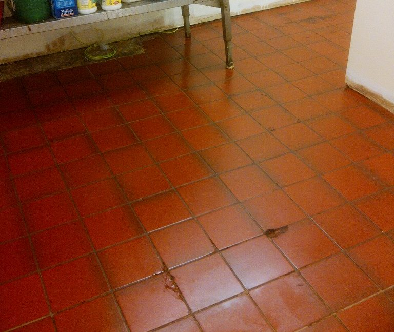 Cleaning Kitchen Quarry Tiles