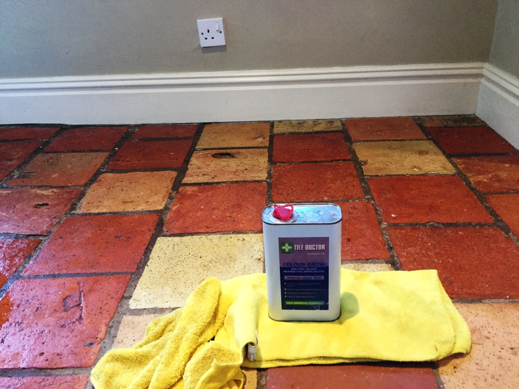 Quarry Tile Sealing