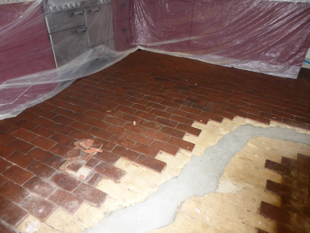 Replacing Quarry Tiles